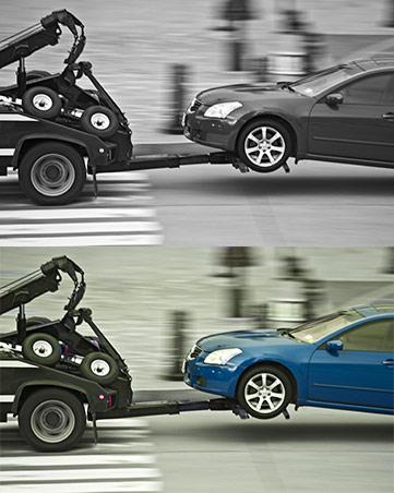 Μεταφορά οχήματος